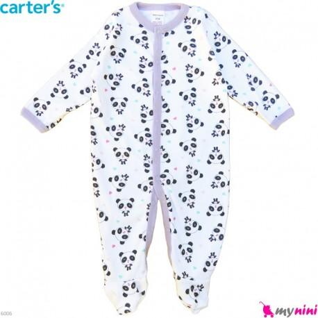 سرهمی کارترز پنبه ای نوزاد و کودک خرگوش و قلب 6 ماه Carter's baby bodysuit