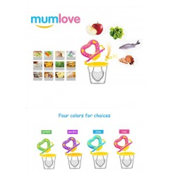پستانک غذا و میوه خوری سیلیکونی مام لاو Mum Love