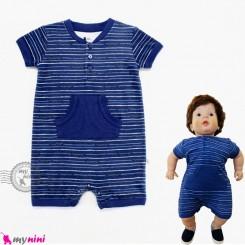 رامپرز نخی نوزاد و کودک مارک تدی بوم Teddy boom baby rompers