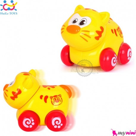 اسباب بازی هویلی تویز گربه نشکن Huile Toys animal cars