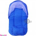 پشه بند نوزاد و کودک تشک دار مسافرتی آبی خالدار Espring Baby mosquito net