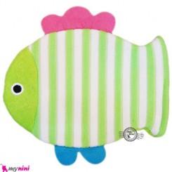 لیف عروسکی نوزاد و کودک ماهی سبز Bathing glove