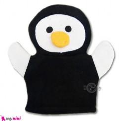 لیف عروسکی نوزاد و کودک پنگوئن Bathing glove