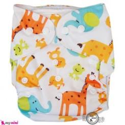 شورت آموزشی کودک 3 لایه زرافه Pororo Reusable Diaper