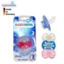 پستانک سیلیکونی ارتودنسی 6 تا 18 ماه Baby Nova