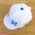 کلاه نقابدار بچه گانه اسپرت طرح ایکس سفید baby cotton cap