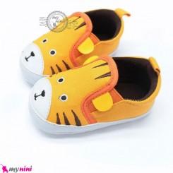 کفش نوزاد و کودک استپ دار ببر Baby first footwear