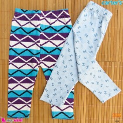 شلوار کارترز پنبه ای 2 عددی 9 تا 12 ماه Carter's baby pants