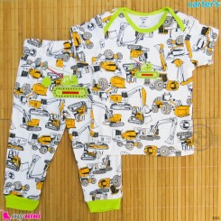 ست تیشرت و شلوار کارترز نخ پنبه ای راهسازی Carter's baby clothes set