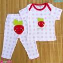 ست تیشرت و شلوار کارترز نخ پنبه ای توت فرنگی Carter's baby clothes set