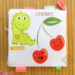 کتاب پارچه ای آموزشی حیوانات و میوه ها baby clothes Book