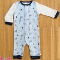 سرهمی نوزاد و کودک نخ پنبه ای مارک اورجینال دابل لاو 0 تا 3 ماه baby bodysuit