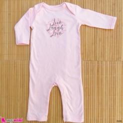سرهمی نوزاد و کودک نخ پنبه ای مارک اورجینال یوگا اسپروت 0 تا 3 ماه baby bodysuit
