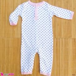 سرهمی نوزاد و کودک نخ پنبه ای مارک اورجینال اچ بی baby bodysuit