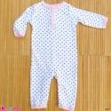سرهمی نوزاد و کودک نخ پنبه ای مارک اورجینال اچ بی 0 تا 3 ماه baby bodysuit