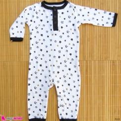 سرهمی نوزاد و کودک نخ پنبه ای مارک اورجینال یوگا اسپروت 3 تا 6 ماه baby bodysuit