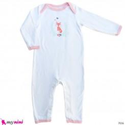 سرهمی نوزاد و کودک نخ پنبه ای مارک اورجینال اچ بی 12 تا 18 ماه baby bodysuit