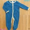 لباس سرهمی کارترز نخ پنبه ای 3 ماه Carter's baby sleepsuit