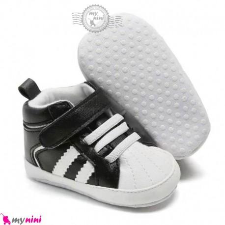کفش اسپرت نوزاد و کودک ساق دار طرح آدیداس Baby sport first footwear