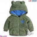 سویشرت گرم بچگانه مارک اورجینال مرینز سبز ارتشی Original marines baby hooded coat