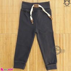 شلوار نخی راحتی بچه گانه بامشی نوک مدادی Bamshi baby cotton pants
