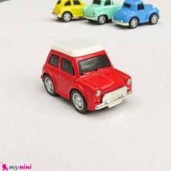 ماشین فلزی عقب کش مدل قدیمی رنگ قرمز mini diecast old cars toys