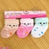 جوراب حوله ای گرم نوزادی 3 جفتی طرح موش baby warm socks