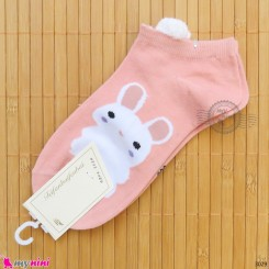 جوراب زنانه مچی گوش دار نخی اعلاء women cotton socks