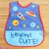 پیشبند نایلونی جیب دار فضایی Baby waterproof bib