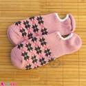 جوراب حوله ای قوزکی زنانه سایز 36 تا 40 رنگ کالباسی women warm socks
