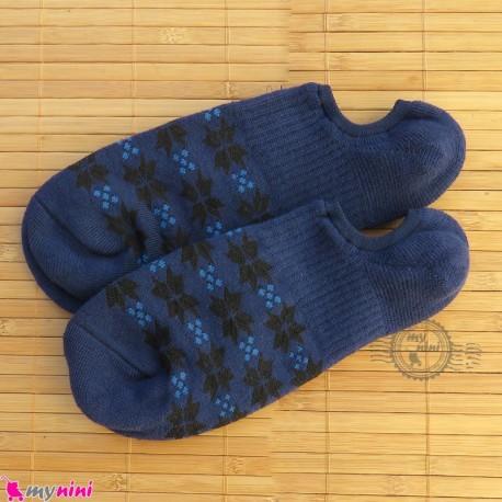 جوراب حوله ای قوزکی زنانه سایز 36 تا 40 رنگ سرمه ای women warm socks