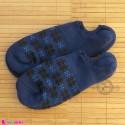 جوراب حوله ای قوزکی زنانه سرمه ای women warm socks