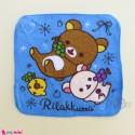 حوله دست و صورت نوزاد و کودک آبی خرس Baby washcloths