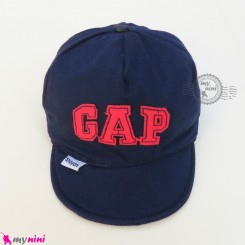 کلاه اسپرت نقابدار بچه گانه سرمه ای گپ baby cotton cap