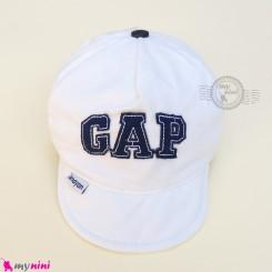 کلاه اسپرت نقابدار بچه گانه شیری گپ baby cotton cap