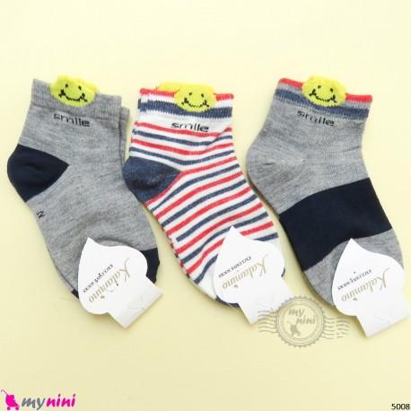 جوراب 3 عددی نخ پنبه ای بچگانه مارک کاتامینو filardi Baby cotton socks
