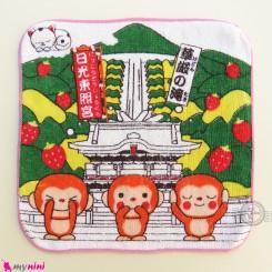 حوله دست نوزاد و کودک کِرِم میمون Baby washcloths