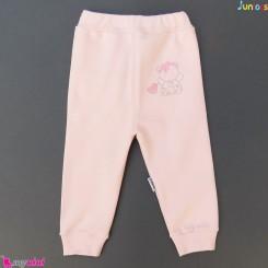 شلوار پنبه ای صورتی جونیورز Juniors baby pink pants