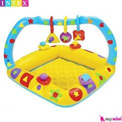 وان بادی و محوطه بازی جغجغه ای کودک اینتکس Intex baby pool