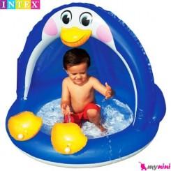 وان بادی و محوطه بازی کودک پنگوئن اینتکس Intex baby pool