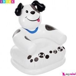 مبل بادی کودک سگ اینتکس Intex dog kids chair