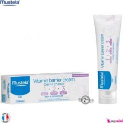 کرم بریر سوختگی سه کاره نوزاد و کودک ماستلا mustela vitamin barrier cream