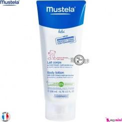 لوسیون بدن و کلد کرم محافظ پوست نوزاد و کودک ماستلا mustela body lotion with cold cream