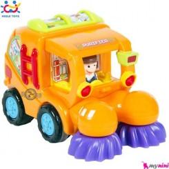 ماشین نظافتچی اسباب بازی هویلی تویز Huile Toys