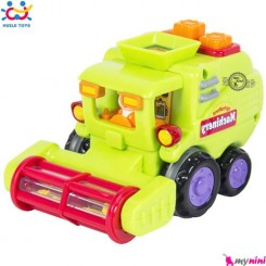 ماشین کمباین اسباب بازی هویلی تویز Huile Toys