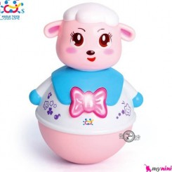 گوسفند تعادلی هویلی تویز موزیکال Huile Toys sheep tumbler