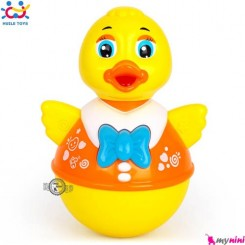 اردک تعادلی هویلی تویز موزیکال Huile Toys duck tumbler