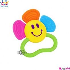دندانگیر هویلی تویز گل Huile Toys baby flower teether