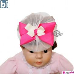 تل مو نوزاد بی بِی بی دو رنگ ترکیه Bibaby baby hair band