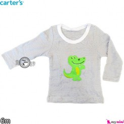 بلوز کارترز تمساح 6 ماه carter's long sleeve t shirts